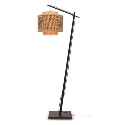 Good&mojo lampa podłogowa mała bhutan czarna 40x34 bhutan/f/ad/b/4034/bn (8716248084093)