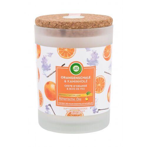 Air Wick Orange Peel & Firewood świeczka zapachowa 185 g unisex (4002448142522)