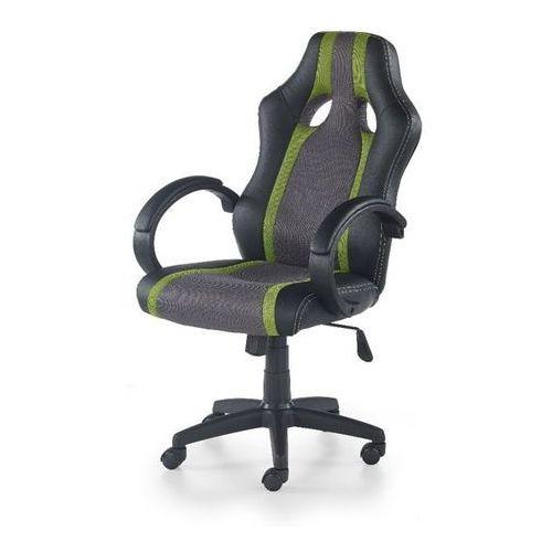Origin fotel gamingowy dla graczy popielato-zielony marki Style furniture