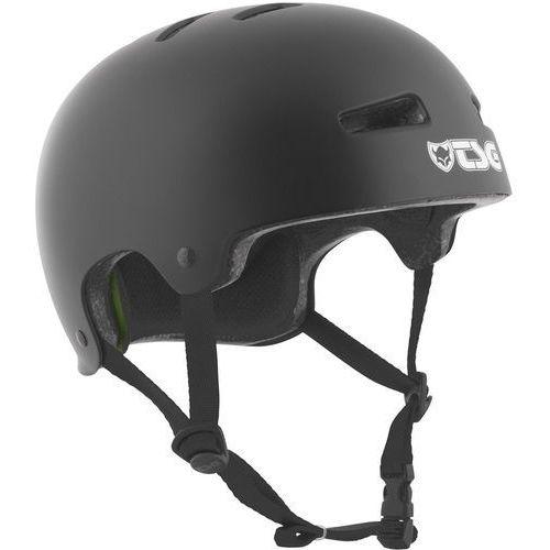 evolution solid color kask rowerowy czarny s/m | 54-56cm 2018 kaski rowerowe marki Tsg