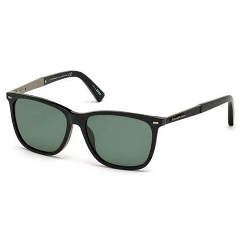 Okulary słoneczne ez0023 polarized 01r marki Ermenegildo zegna