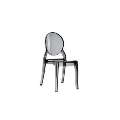 D2. Krzesło mia black - czarny ||transparentny (5902385700108)
