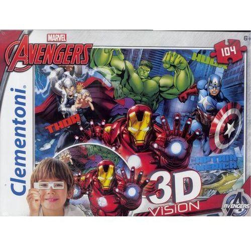Clementoni, puzzle 3D Vision Avengers