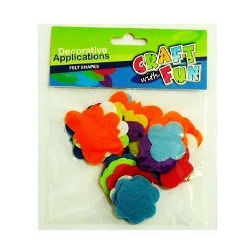 Ozdoby dekoracyjne - Filcowe kształty - Craft With Fun