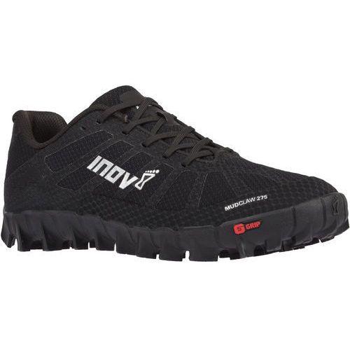 Inov-8 mudclaw 275 buty do biegania, black/silver uk 5,5 | eu 38,5 2019 buty do biegów z przeszkodami (ocr)