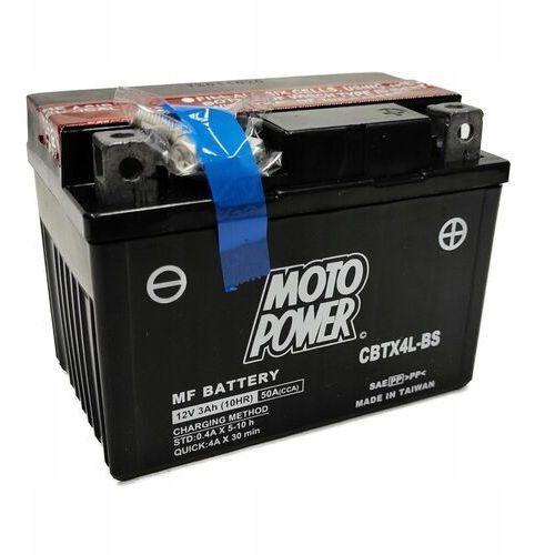 Akumulator motocyklowy moto power cbtx4l-bs ytx4l-bs 12v 3ah 40a en p+ marki Yuasa