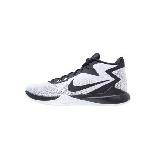 Nike Performance ZOOM EVIDENCE Obuwie do koszykówki white/black/wolf grey/pure platinum