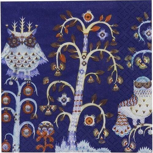 Iittala Serwetki taika 33 x 33 cm niebieskie (6411923652926)
