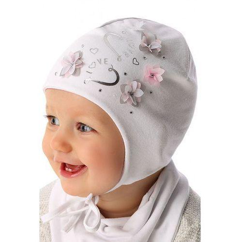 Czapka niemowlęca wiązana 5x34ac marki Marika
