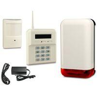 Bezprzewodowy zestaw alarmowy elmes, 6 x czujnik, sygnalizator marki Elmes electronic