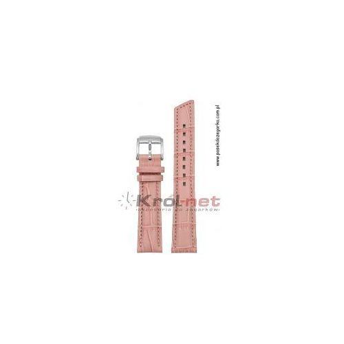 Pasek Hirsch Princess 20 mm - jasny róż, kolor różowy