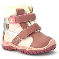 Wojtyłko Dziecięce buty zimowe 20048 - różowy ||pudrowy róż