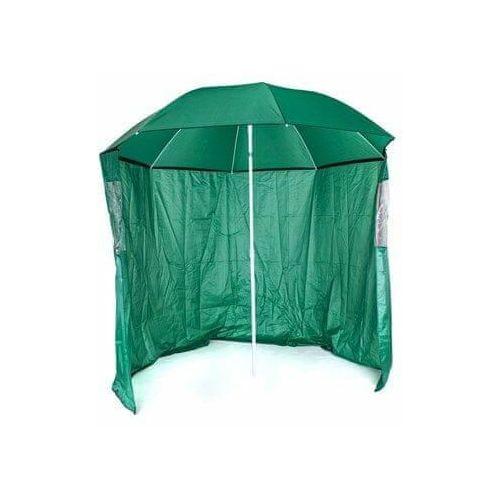 parasol przeciwsłoneczny ze ścianą boczną, średnica 230 cm marki Happy green