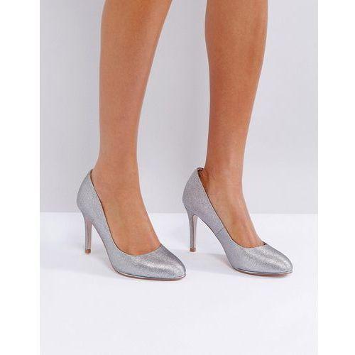Miss kg round toe point high heels - grey
