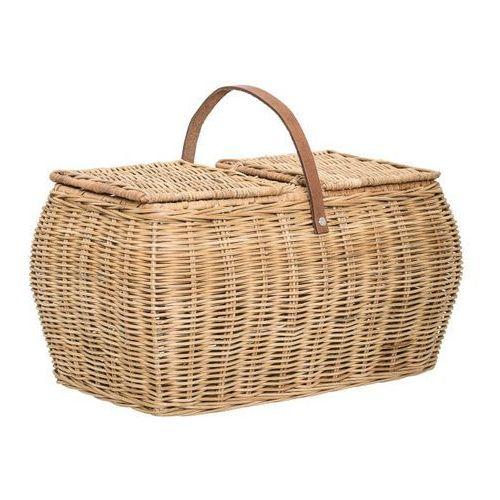 koszyk piknikowy rattanowy