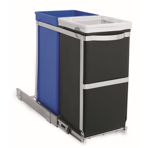 Simplehuman - kosz na śmieci 35l pull out recycler