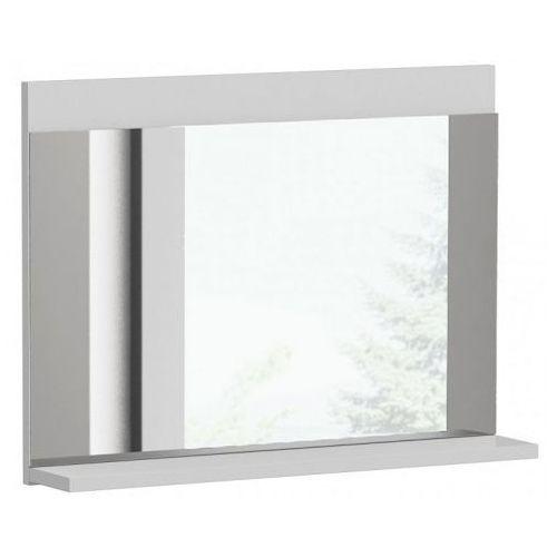 Lustro łazienkowe Lafis 3X - biały połysk