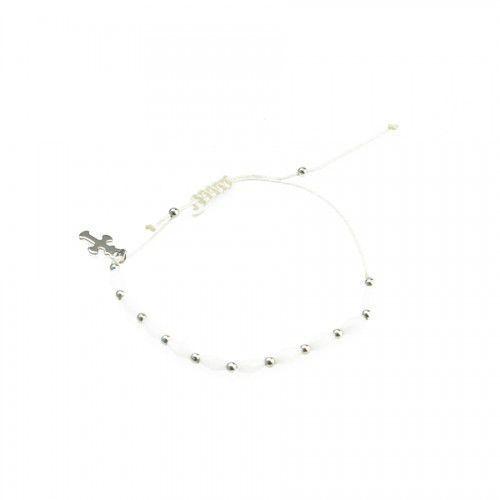 Bransoletka religijna, dziesiątka różańca z zawieszką, URBD008