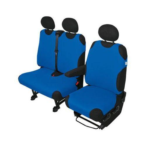 Koszulki samochodowe na dostawcze Delivery Van Niebieskie - Niebieski