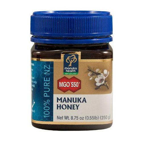 Miód manuka 550+ 250g marki Manuka health