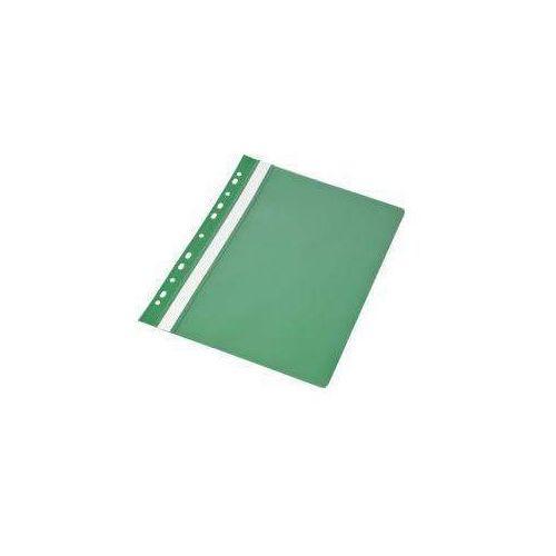 Skoroszyt A4 PP z europerforacją zielony (20szt)