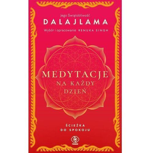 Medytacje na każdy dzień. ścieżka do spokoju - jego świątobliwość dalajlama (440 str.)