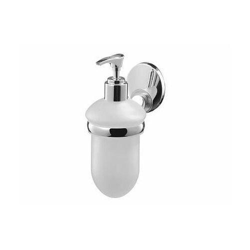 Bisk emotion dozownik mydła z uchwytem, chrom + satyna 03112