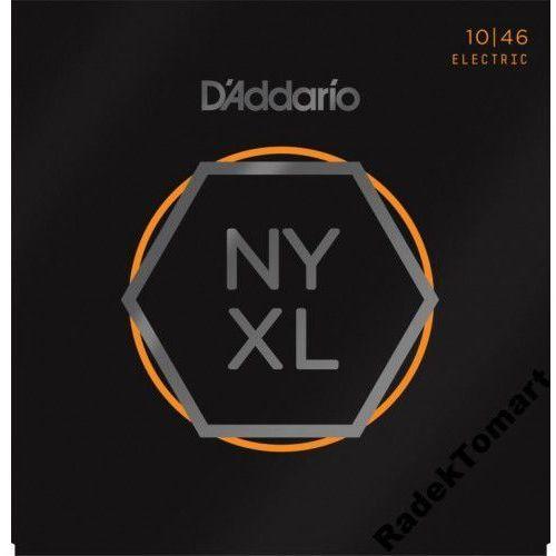 D'Addario NYXL1046 struny do gitary elektrycznej