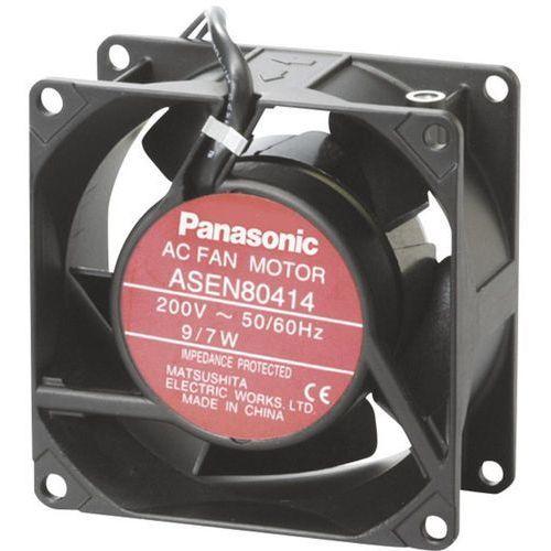 Wentylator osiowy Panasonic ASEN80212, 115 V/AC, 51 m³/h, (DxSxW) 80 x 80 x 25 mm, ASEN80212