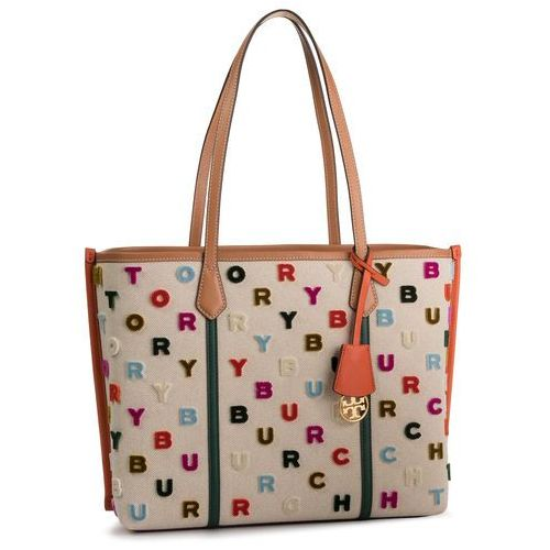 Torebka TORY BURCH - Perry Fil Coupe Triple 56253 Natural/Multi Color 265