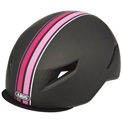 Abus yadd-i kask rowerowy szary/różowy m | 54-59cm 2018 kaski rowerowe (4003318726002)