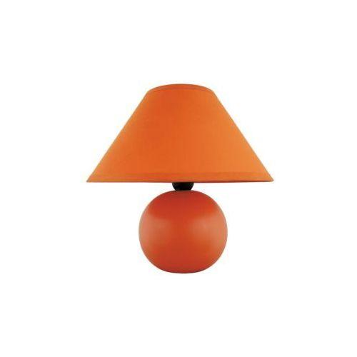 Lampa stołowa lampka Rabalux Ariel 1x40W E14 pomarańczowa 4904