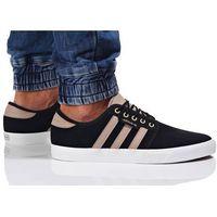 adidas Originals SEELEY Tenisówki i Trampki core black/trace khaki/white, kolor czarny
