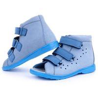 Dawid Buty korekcyjne  - model 1041 / 1042 kolor niebieski