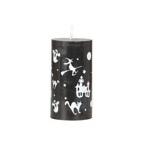 Świeczka halloween czarna 13x7cm marki Twojestroje.pl