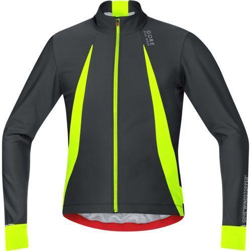 GORE BIKE WEAR OXYGEN Koszulka kolarska Mężczyźni WS żółty/czarn M Koszulki rowerowe z długim rękawem (4017912509633)