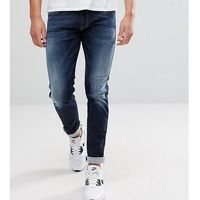 Replay Hyperflex Anbass Slim Jeans in Blue Black - Navy, jeansy