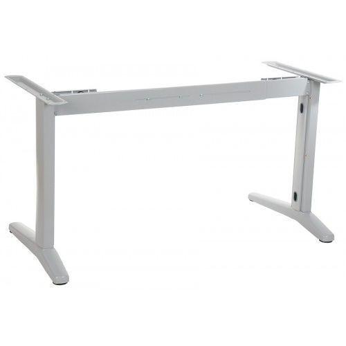 Stelaż metalowy biurka z rozsuwaną belką STL-01, kolor aluminium