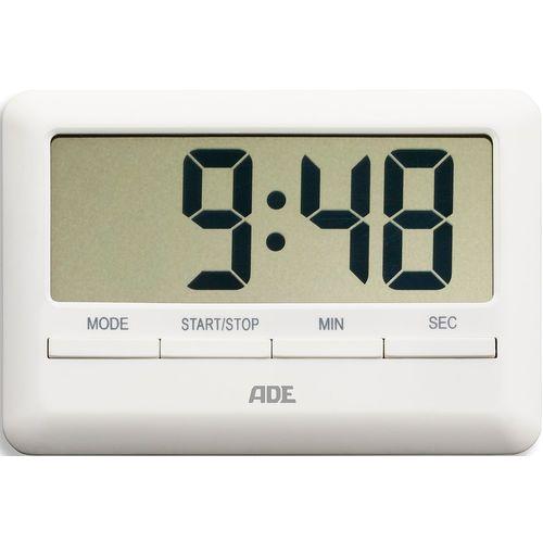 Ade Minutnik elektroniczny z wyświetlaczem lcd - biały (ad-td 1600)