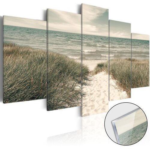 Artgeist Obraz na szkle akrylowym - cicha plaża [glass]