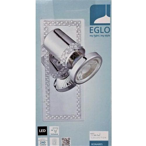 bonares spot ścienny chrom, kryształowa, 1-punktowy - nowoczesny - obszar wewnętrzny - bonares - czas dostawy: od 2-3 tygodni marki Eglo