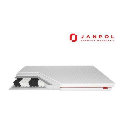 Janpol wenus - materac kieszeniowy, sprężynowy, rozmiar - 100x190, pokrowiec - silver protect wyprzedaż, wysyłka gratis (5906267415968)