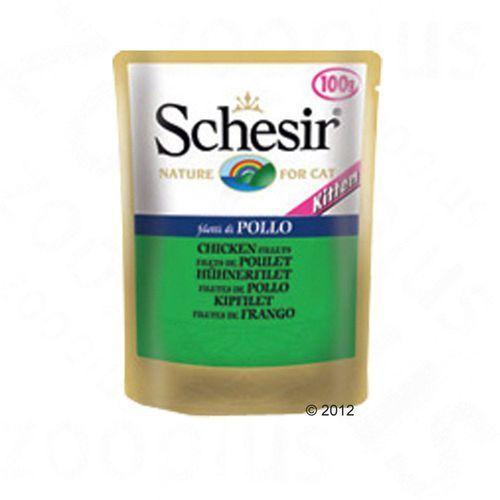 Schesir kitten kurczak - saszetka 100g (8005852751041)