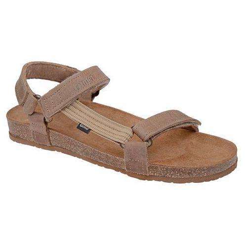Sandały OTMĘT 405CP Beżowe Jezuski BioForm Fussbett - Beżowy ||Brązowy, kolor beżowy