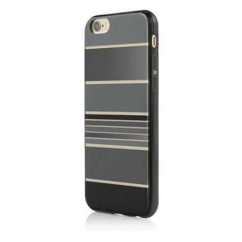 Incipio Design Series HENSLEY - Etui iPhone 6s / iPhone 6 (Stripes Black), kolor czarny