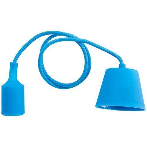 Lampa wisząca niebieska silikonowa ARAKS, kolor Niebieski