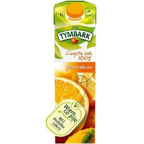 Sok  1l. - pomarańczowy marki Tymbark