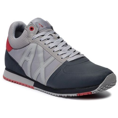 Sneakersy - xux015 xv026 d290 grey/navy/red, Armani exchange, 40-45