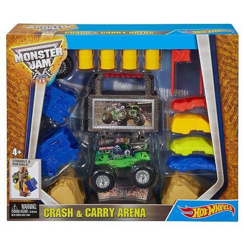 Zabawka HOT WHEELS Monster Jam zestaw przenośny + DARMOWY TRANSPORT!