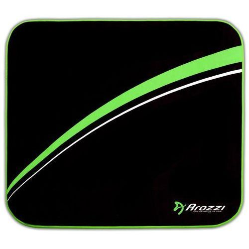 Arozzi Floormat, czarny/zielony (AROZZI-FLOORMAT-GN)